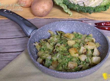 Verza e patate in padella