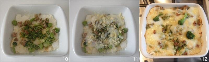 Lasagne broccoli e salsiccia ricetta semplice e saporita il chicco di mais 4 cuocere la lasagna