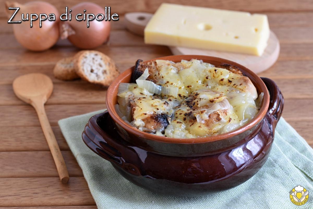 Ricetta Zuppa Cipolle Francese.Soupe A L Oignon Zuppa Di Cipolle Alla Francese Gratinata Con Formaggio