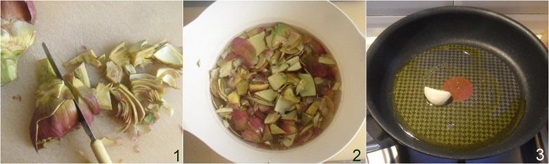involtini di pollo con pancetta e carciofi ricetta facile e gustosa il chicco di mais 1 tagliare i carciofi