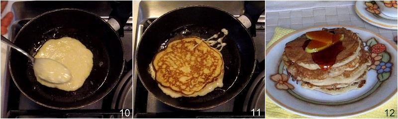 pancakes alle mele ricetta facile e veloce il chicco di mais 4 cuocere i pancakes