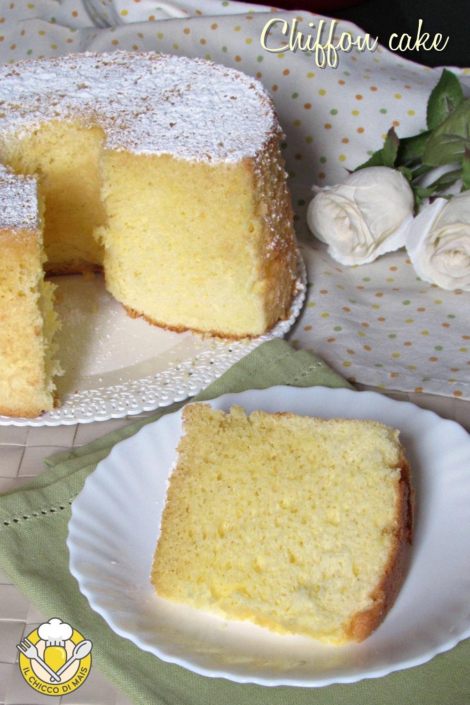 verticale_chiffon cake ciambella soffice americana ricetta anche senza glutine il chicco di mais