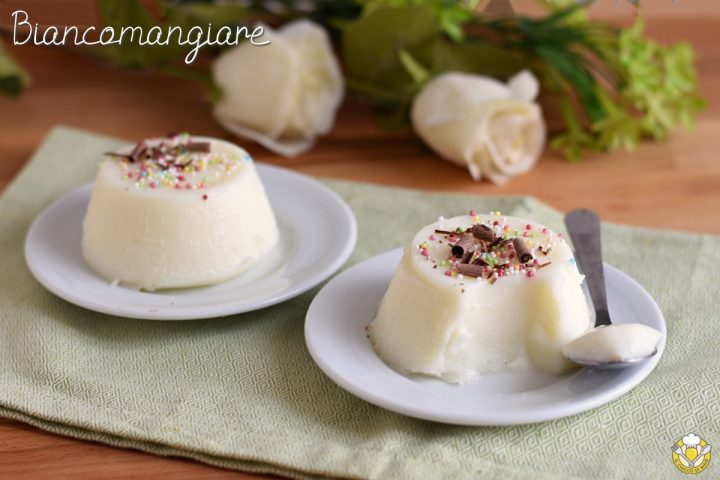 Biancomangiare siciliano ricetta siciliana budino di latte con amido di mais facile e veloce senza uova senza colla di pesce il chicco di mais