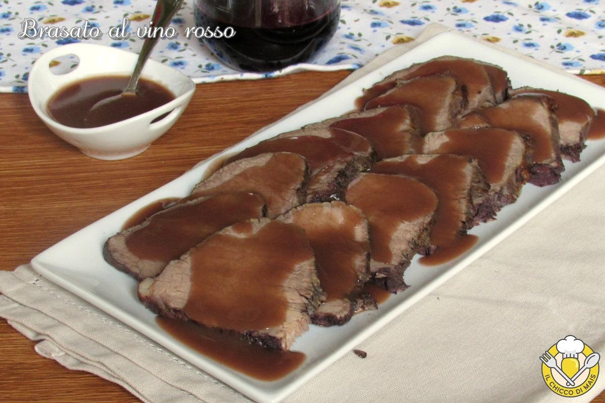 brasato al vino rosso ricetta tradizionale o nella slowcooker brasato al barolo il chicco di mais