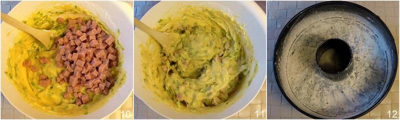 ciambella salata con zucchine e pomodorini prosciutto e formaggio ricetta tradizionale e senza glutine il chicco di mais 4