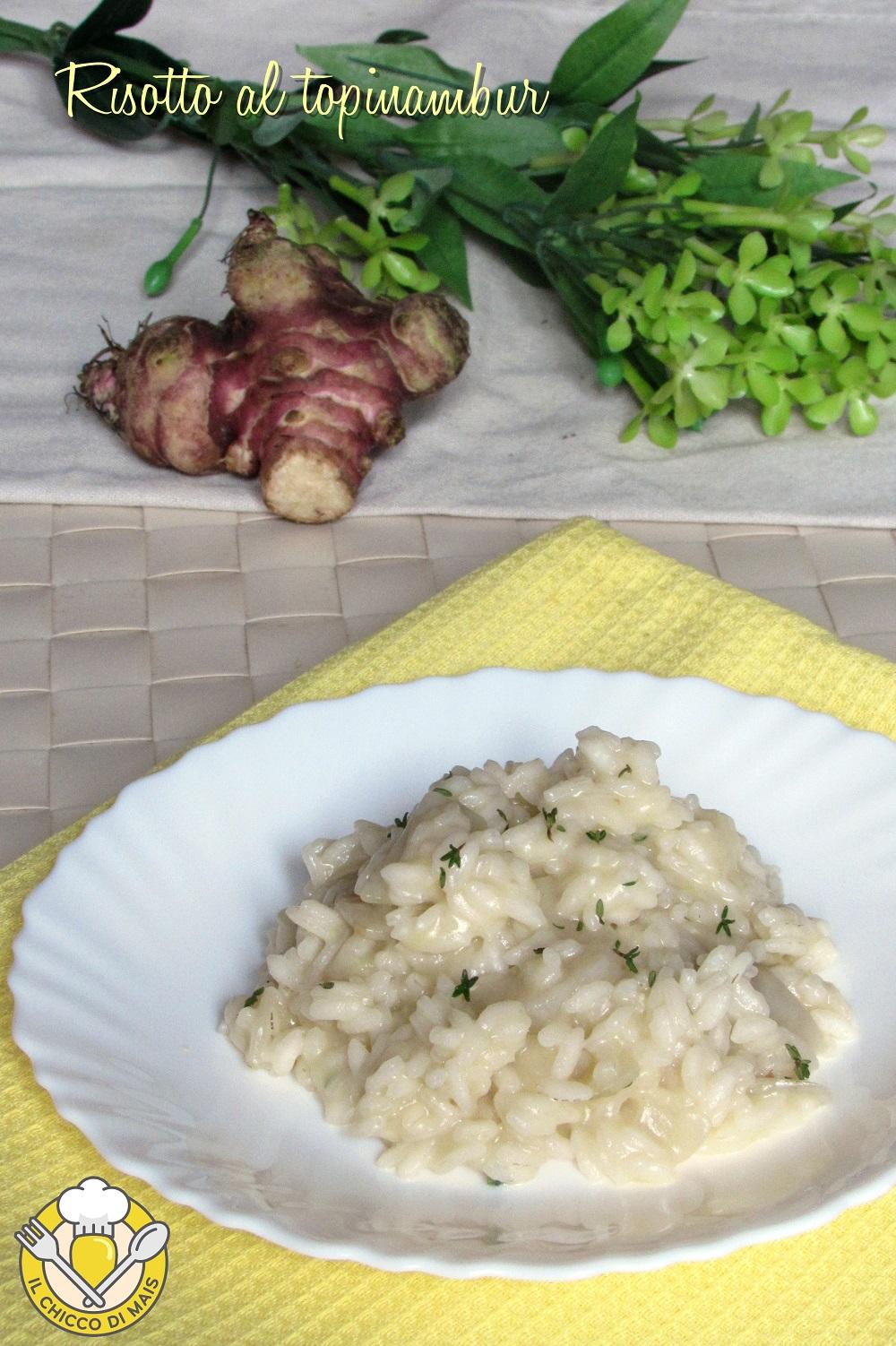 verticale_risotto al topinambur cremoso facile ricetta il chicco di mais