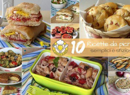 10 ricette da picnic semplici e sfiziose