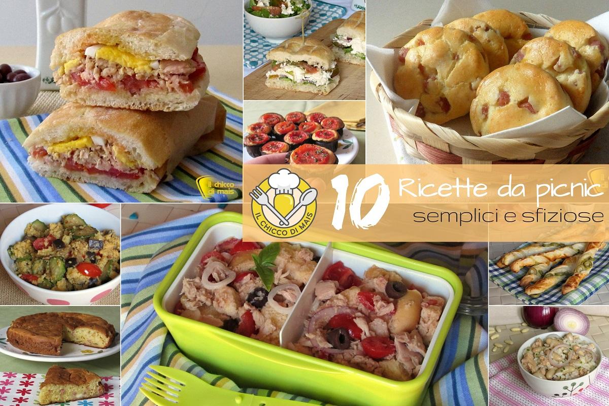 Cosa Fare A Pranzo ricette da picnic: 10 idee con e senza borsa frigo | il