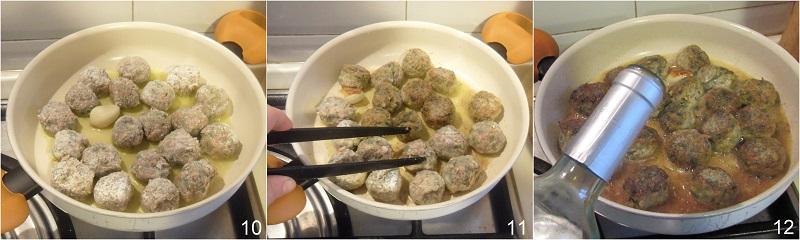 polpette di carne e verdure cime di rapa spinaci friarielli cavolo nero bieta ricetta polpette morbide il chicco di mais 4 rosolare le polpette