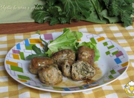 Polpette di carne e verdure