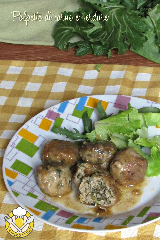 verticale_polpette di carne e verdure cime di rapa spinaci friarielli cavolo nero bieta ricetta polpette morbide il chicco di mais