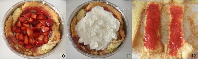 zuccotto gelato alle fragole ricetta passo passo anche senza glutine il chicco di mais 4 chiudere lo zuccotto