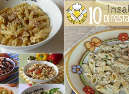 10 insalate di pasta fredda estive