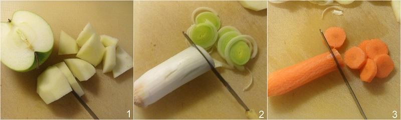Arista nella slow cooker con mela verde e mandarini ricetta arrosto di maiale tenero e succulento il chicco di mais 1 tagliare verdure
