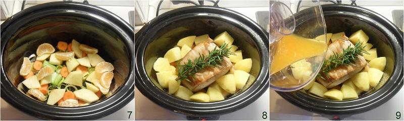 Arista nella slow cooker con mela verde e mandarini ricetta arrosto di maiale tenero e succulento il chicco di mais 3 mettere crockpot