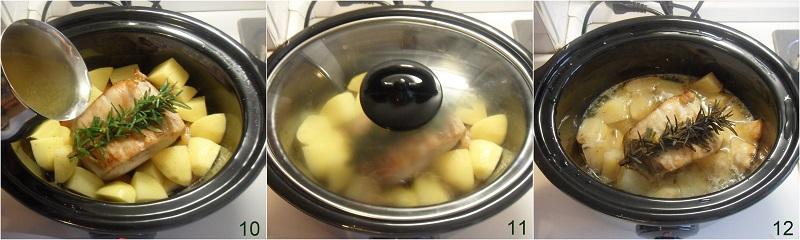 Arista nella slow cooker con mela verde e mandarini ricetta arrosto di maiale tenero e succulento il chicco di mais 4 cuocere arrosto