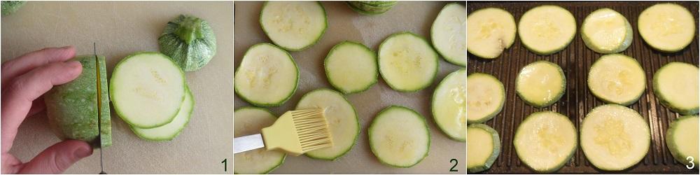 Torrette di zucchine con prosciutto e formaggio ricetta con zucchine grigliate facile il chicco di mais 1 grigliare le zuc