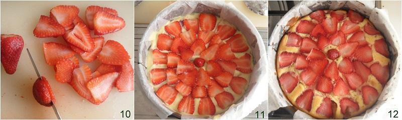torta morbida alle fragole e ricotta senza burro ricetta dolce soffice alle fragole anche senza glutine il chicco di mais 4 cuocere torta
