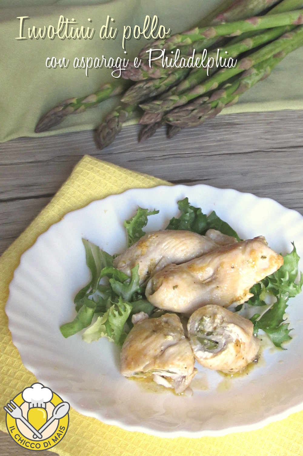 v_ involtini di pollo con asparagi e philadelphia ricetta veloce e cremosa il chicco di mais