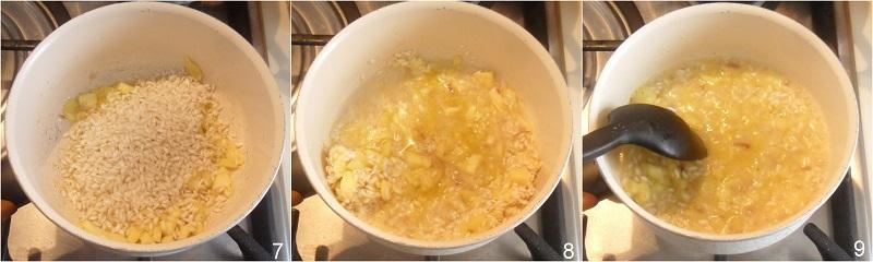 zucchine ripiene di riso allo zafferano ricetta con zucchine tonde facile e gustosa il chicco di mais 2 preparare il risotto