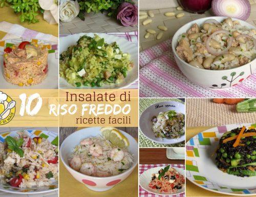 Insalate di riso freddo: le migliori ricette