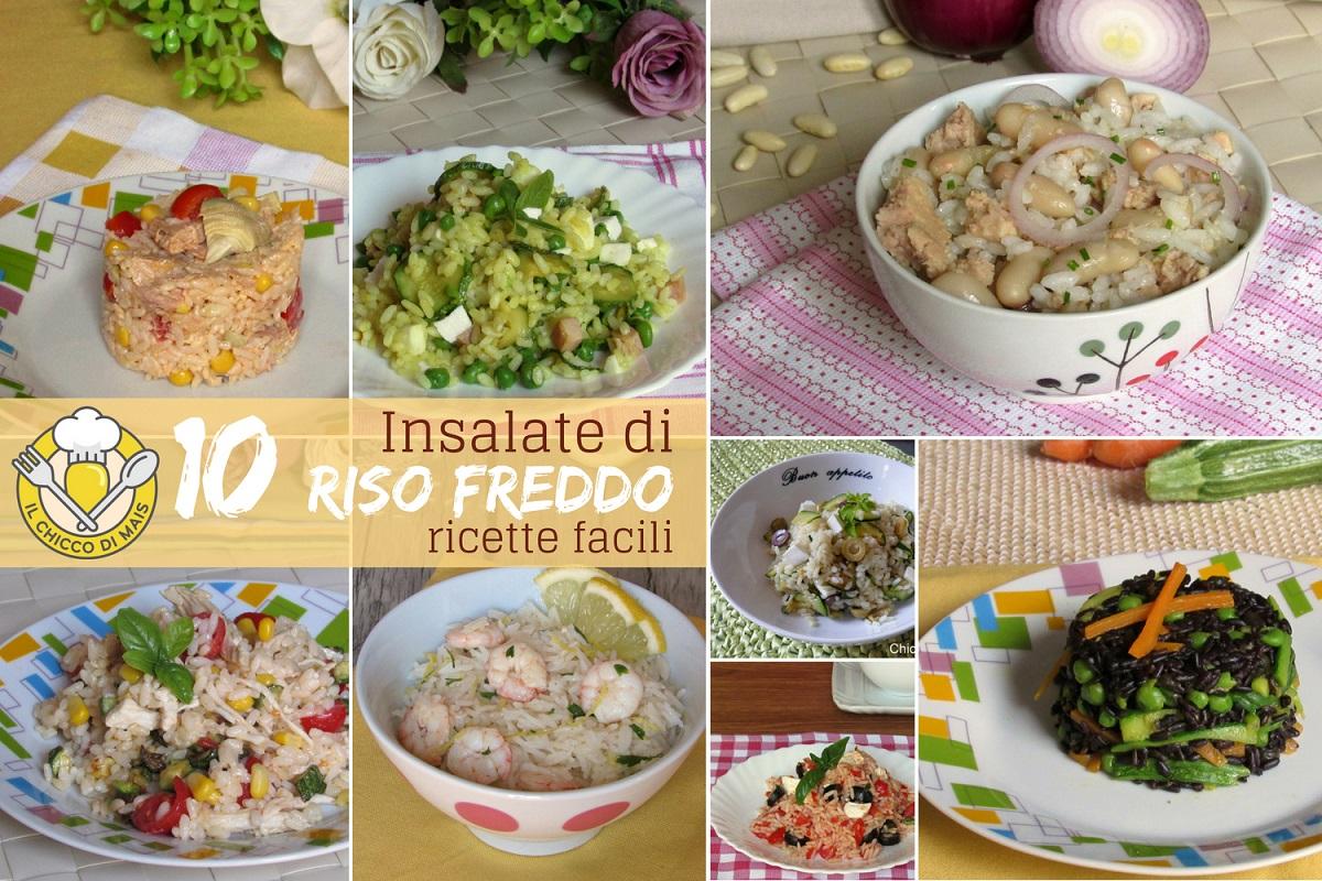 10 insalate di riso freddo ricette facili veloci estive vegetariane di pesce di carne il chicco di mais