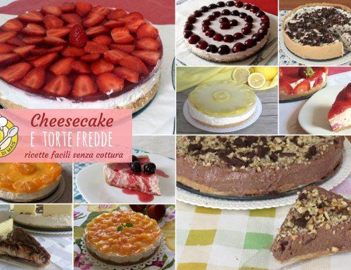 Cheesecake e torte fredde facili