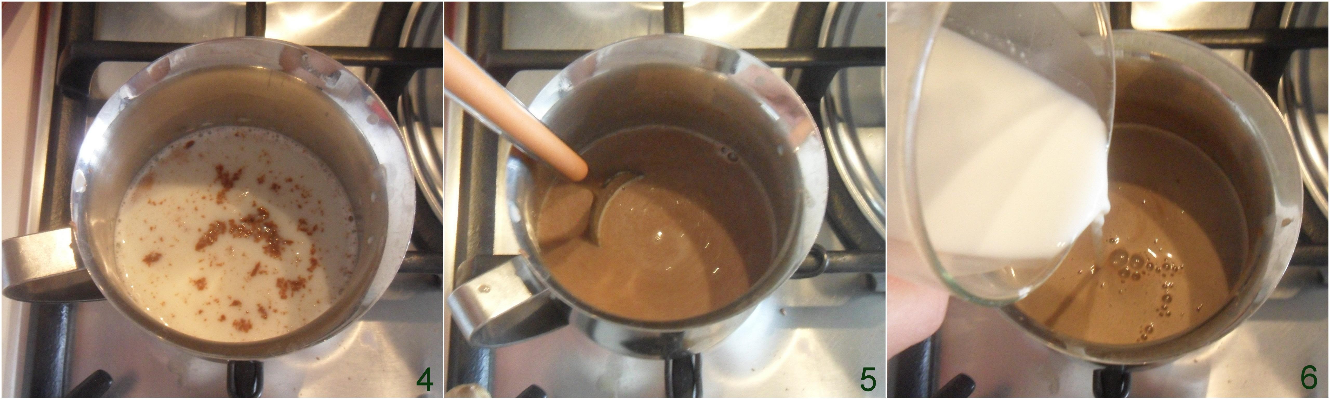 Budino al cioccolato al latte ricetta facile senza colla di pesce senza gelatina senza uova senza panna il chicco di mais 2 far addensare
