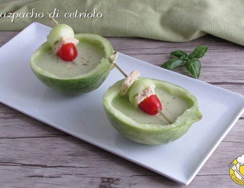 Gazpacho di cetriolo