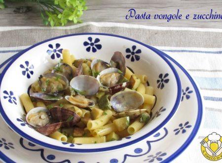 Pasta vongole e zucchine
