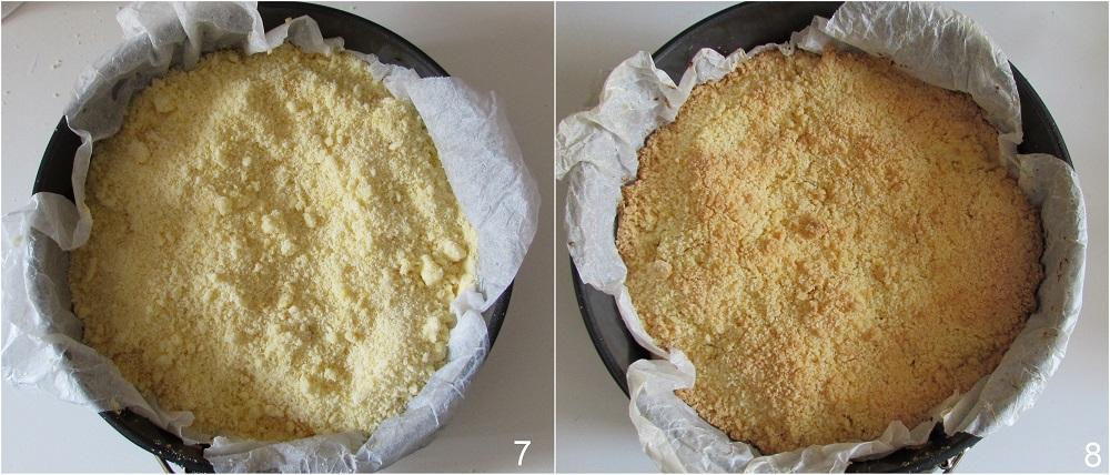 sbriciolata alle pesche ricette veloce crostata con pesche anche senza glutine il chicco di mais 3 cuocere la sbriciolata