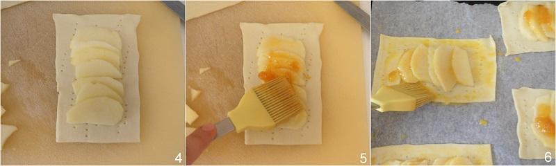 sfogliatine alle mele ricetta dolce veloce con pasta sfoglia e mele il chicco di mais 2 disporre le mele