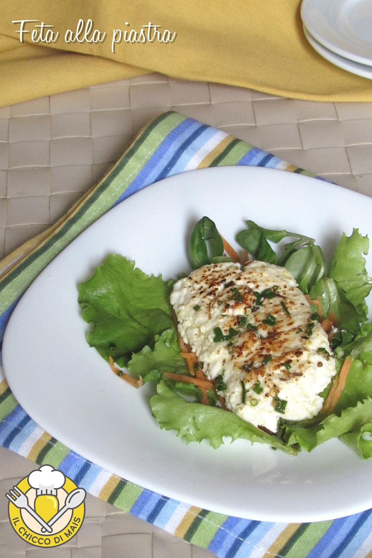 v_ feta alla piastra con erbe e aromi ricetta veloce sfiziosa secondo vegetariano il chicco di mais