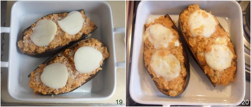 Melanzane ripiene di riso e scamorza filante ricetta facile e gustosa il chicco di mais 7 cuocere le melanzane in forno