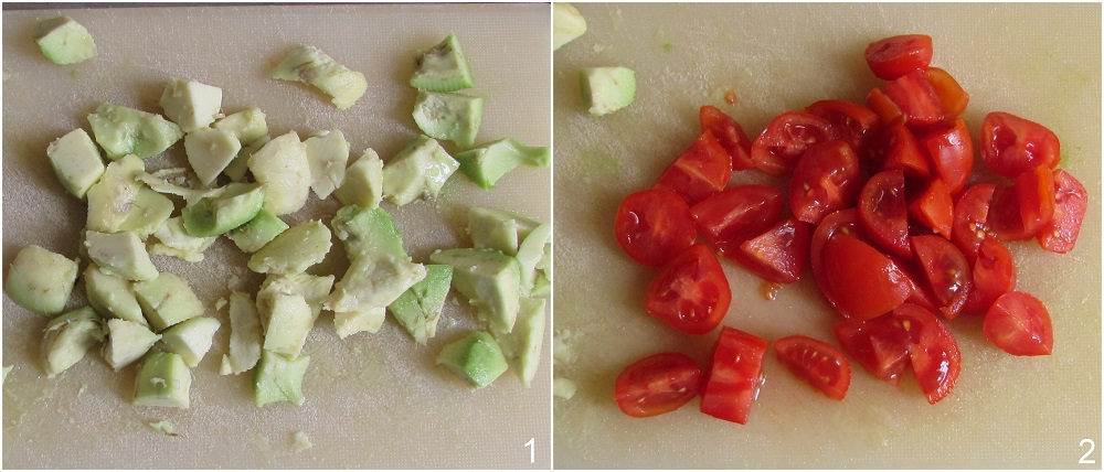 pasta fredda con ceci e avocado ricetta light vegan e vegetariana il chicco di mais 1 taglilare le verdure