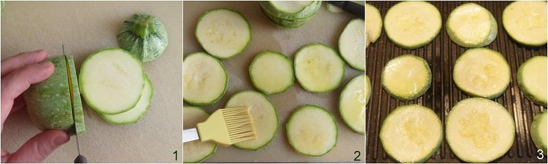pizzette di zucchine grigliate e al forno ricetta con zucchine tonde il chicco di mais 1 grigliare le zucchine