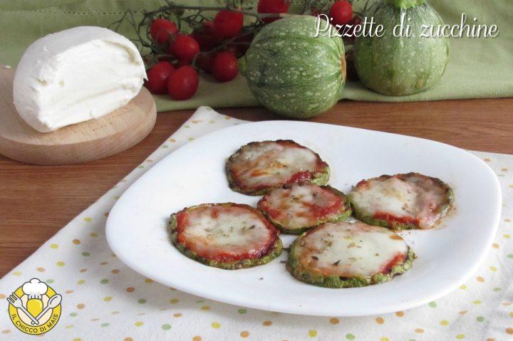 pizzette di zucchine grigliate e al forno ricetta con zucchine tonde il chicco di mais