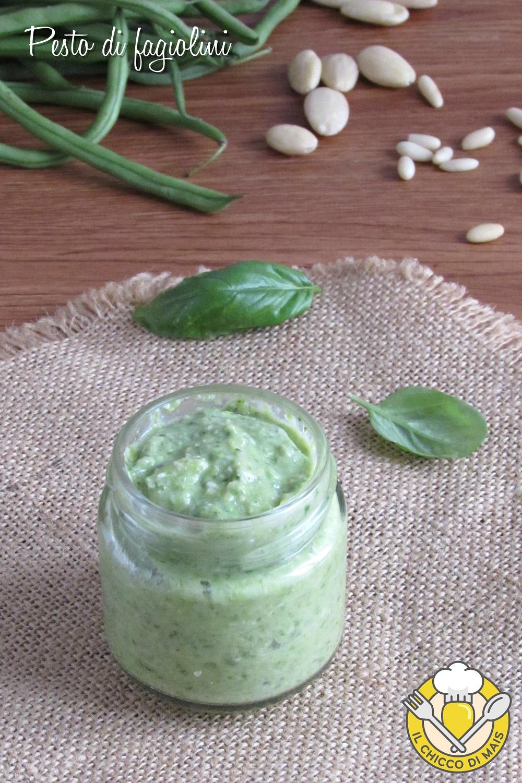 v_ pesto di fagiolini ricetta facile e veloce per condire la pasta il chicco di mais