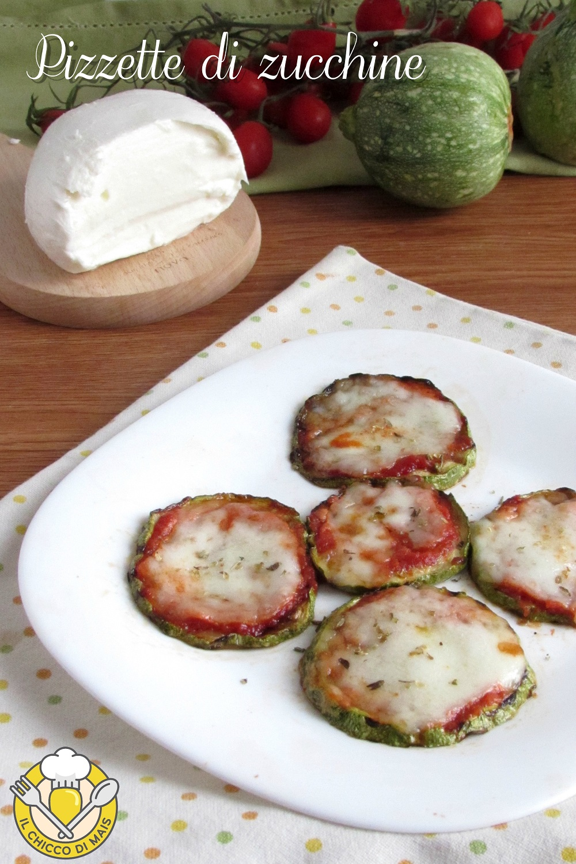 v_ pizzette di zucchine grigliate e al forno ricetta con zucchine tonde il chicco di mais