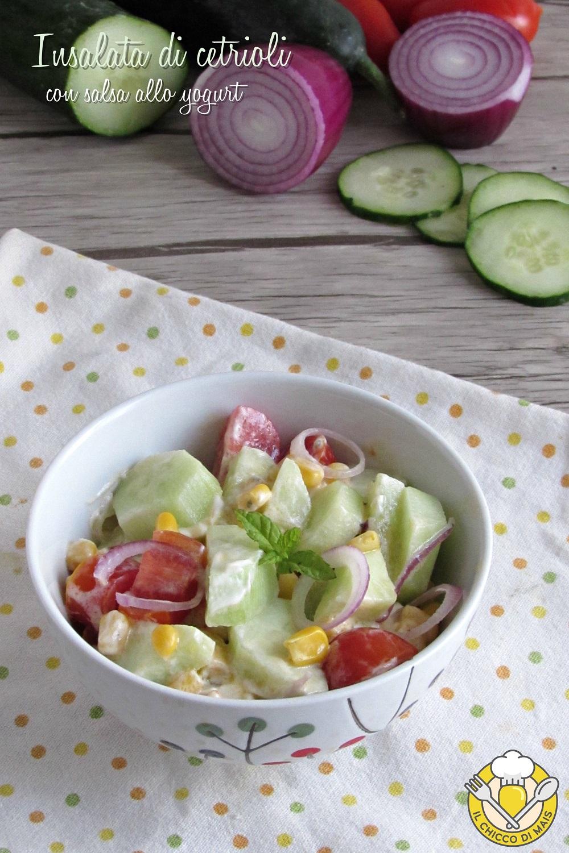 v_insalata di cetrioli con salsa allo yogurt ricetta light estiva fresca facile veloce il chicco di mais