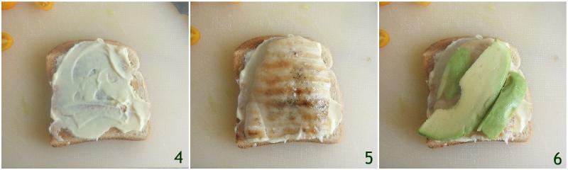 club sandwich con pollo e avocado ricetta panino a tre strati leggero e gustoso il chicco di mais 2 formare il primo strato