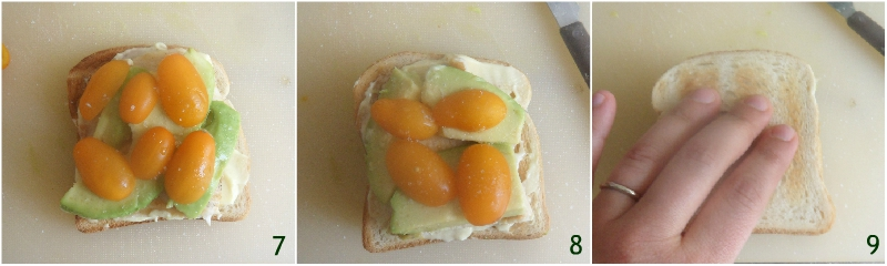 club sandwich con pollo e avocado ricetta panino a tre strati leggero e gustoso il chicco di mais 3 terminare l'ultimo strato