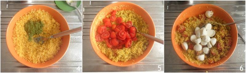 couscous freddo al pesto con pomodoro e mozzarella ricetta insalata di couscous estiva il chicco di mais 2 condire il couscous