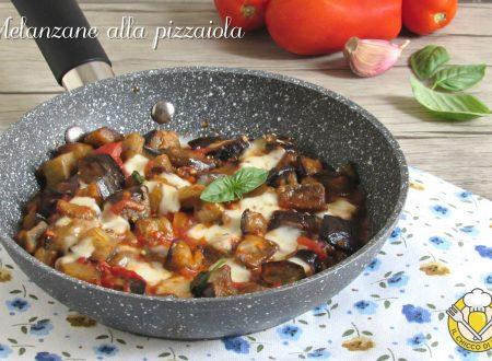 Melanzane alla pizzaiola in padella