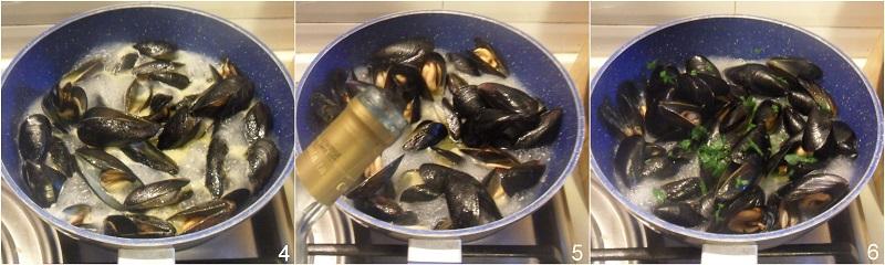 sautè di cozze con crostini ricetta facile antipasto di pesce economico il chicco di mais 2 sfumare col vino bianco