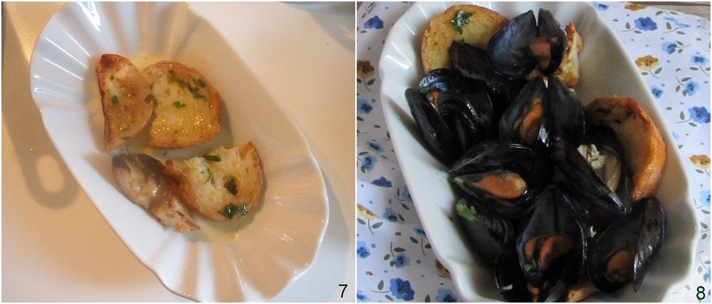 sautè di cozze con crostini ricetta facile antipasto di pesce economico il chicco di mais 3 servire con i crostini
