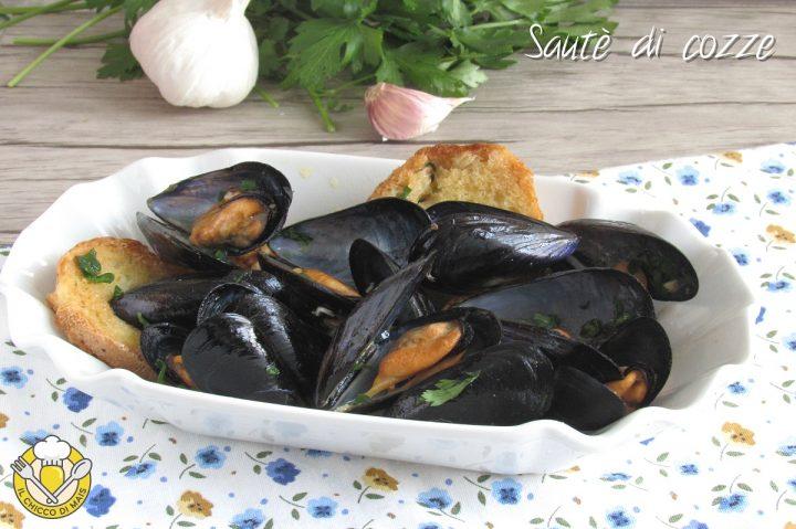 sautè di cozze con crostini ricetta facile antipasto di pesce economico il chicco di mais