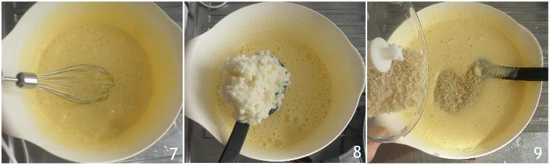 torta degli addobbi o torta di riso emiliana bolognese ricetta originale dolce di riso senza farina il chicco di mais 3 montare le uova