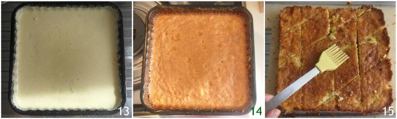 torta degli addobbi o torta di riso emiliana bolognese ricetta originale dolce di riso senza farina il chicco di mais 5 cuocere il dolce
