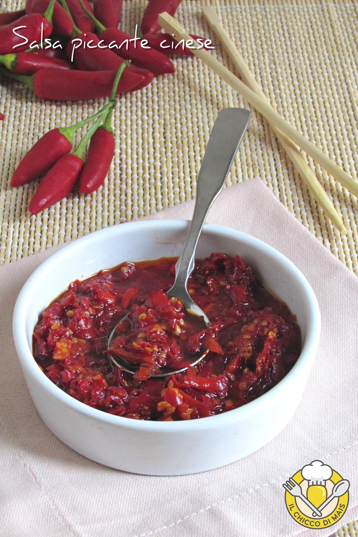 v_ salsa piccante cinese e thailandese con peperoncino fresco tritato ricetta chili oil il chicco di mais
